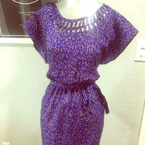 Sweet blue summer dress